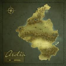 Fantasy Maps Ardia Regional Fantasy Map By Ahobbiteer On Deviantart