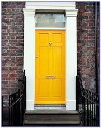 yellow front door paint colors painting home design ideas