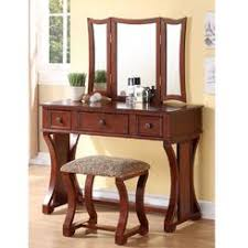 Mirrored Makeup Vanity Table Bedroom Vanities Sears