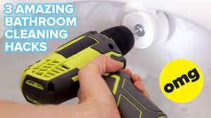 Bathtub Cleaning Tricks 3 Best Bathroom Cleaning Tricks Youtube