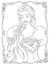 Princess Coloring Pages Princess Coloring Free Coloring Sheets