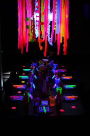 blacklight halloween party ideas 17 best party neon u0026 glow images on pinterest neon party