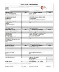 Rental Property Balance Sheet Template Exle Balance Sheet Template