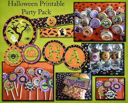 halloween party packs flipchick designs halloween printable party pack