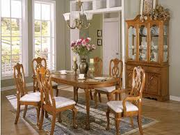 unique oak dining room chairs with ideas about oak dining room set