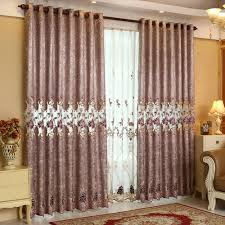 online shop luxury window curtains for living room embroidered