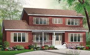traditional 2 story house plans house plan w3706 detail from drummondhouseplans