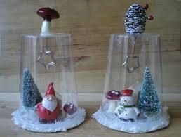 decorazioni bicchieri cane natalizie con materiale riciclato il tutorial http www