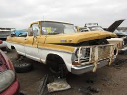Vintage Ford Truck Junk Yards - junkyard find 1971 ford f 100 pickup the truth about cars
