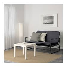 Sofa Bed Ikea Hammarn Rozkládací Pohovka Knisa Tmavě šedá černá Apartments