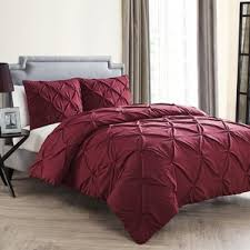 Red Bedroom Comforter Set Red Comforter Sets Queen 6 Piece Queen Tranquil Red And Taupe