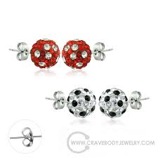 surgical steel stud earrings crave jewelry