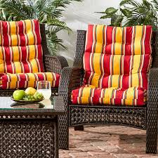 Jcpenney Outdoor Furniture by Outdoor High Back Set Of 2 Chair Cushion Jcpenney