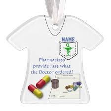 personalized pharmacist ornament zazzle