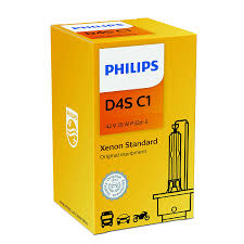 amazon com philips d4s standard xenon hid headlight bulb 1 pack