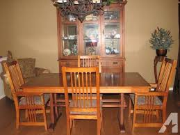 mission style dining room set mission dining room set home design ideas and pictures