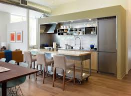 Kitchen Island Prep Table by Stainless Steel Prep Table In Kitchen Modern With Marble