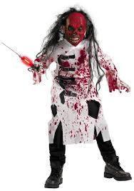 kids disturbed doctor costume scary costumes for kids