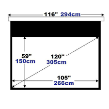 motorized home theater screen high end home theater use 120