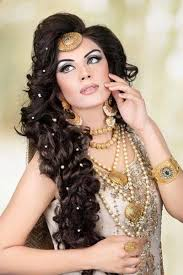 hair styles pakistan latest pakistani bridal makeup hairstyles 2016 2017 womenstyle pk