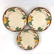franciscan tree dinner plates 10 5 inch set of 3