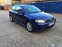 look vauxhall astra sxi 1 6 petrol mk4 3 door manual mot tax fully
