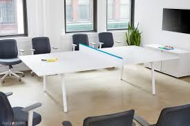 poppin u0027s fresh take on the new conference room table