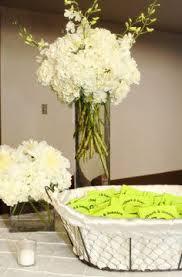 Cylinder Vase Centerpiece by Wedding Centerpiece Hydrangea In A Cylinder Vase With Hanging