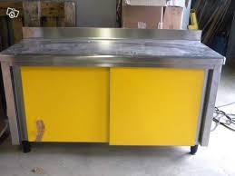 meuble inox cuisine pro meuble neuf inox occasion