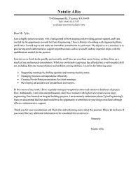 Secretary Assistant Resume Cover Letter Examples For Resume Clerical Cover Letter Example
