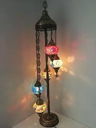 Mosaic Floor Lamp 5 Ball Turkish Mosaic Floor Lamps Lambader Ebay