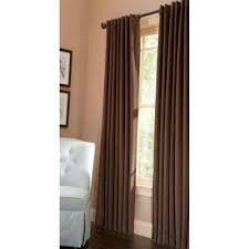Martha Stewart Curtains Home Depot Brown Curtains U0026 Drapes Window Treatments The Home Depot