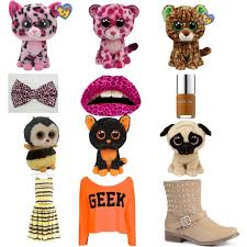 match beanie boo polyvore