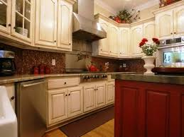 Kitchen Colour Ideas 2014 by Brown Polished Mahogany Cabinetry White Granite Countertops