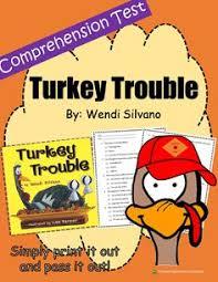thanksgiving turkey trouble activity turkey trouble