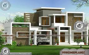 flat house design flat roof house designs with 2 floor ultra modern latest home plan free