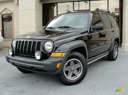 silver jeep liberty with black rims black 2006 jeep liberty renegade exterior photo 55874511