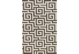 5 8 Rugs Labyrinth Place Pewter 5 U0027 X 8 U0027 Rug Rugs Gray