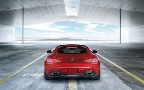 cars mercedes red wallpaper mercedes amg gt 2017 cars rear view mercedes benz hd