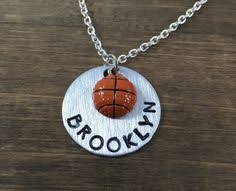 personalized basketball necklace personalized handsted girl name necklace girl