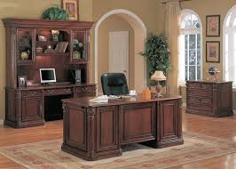 Wooden Home Office Furniture Wooden Office Furniture For The Home Fancy Home Office Desk