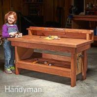 Rolling Work Bench Plans Workbench Plans Workbenches The Family Handyman