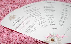 wedding programs diy wedding program fans by aylee bits
