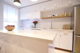 countertops simple farmhouse kitchen with concrete countertop and