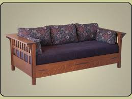 Mission Sleeper Sofa Arts Crafts Style Daybed Daybed Mission Furniture And Mission