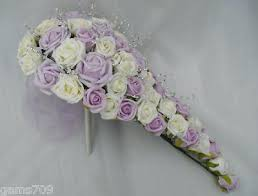 Silk Wedding Bouquet Artificial Wedding Bouquets Uk Artificial Wedding Flowers Brides