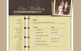 free personal wedding websites what to include on your personal wedding website ewedding