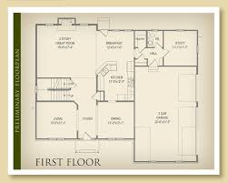 Custom Home Floor Plan by The Highland Ii By John Hall Custom Homes Crown Highland Woods