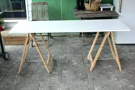 making a trestle table how to build a trestle table dy build simple trestle table