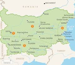 Map Of Greece And Surrounding Countries by Map Of Bulgaria Bulgaria Regions Rough Guides Rough Guides